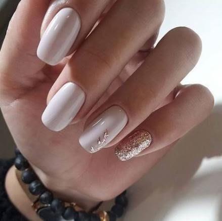 Trendy Nails Matte White
