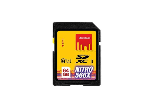 Strontium 64 GB SDHC UHS -1 NITRO 566X Card Review - TechPlugged