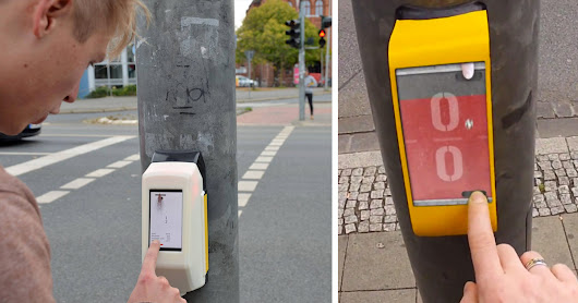 Traffic Light That Lets You Play Pong with Person on the Other Side Officially Installed in Germany