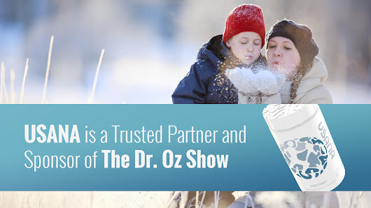 USANA Is a Trusted Partner and Sponsor of The Dr. Oz Show