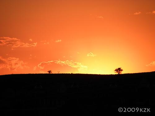 15 JUL 09 sunset