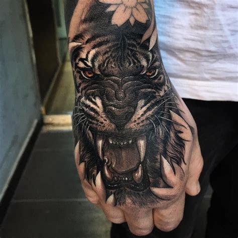 pin tatted images hand tattoos guys
