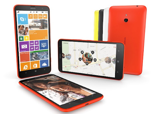 Nokia Lumia 1320 announced with 6-inch 720p display, 1.7 GHz Snapdragon 400 chipset and 5 MP camera