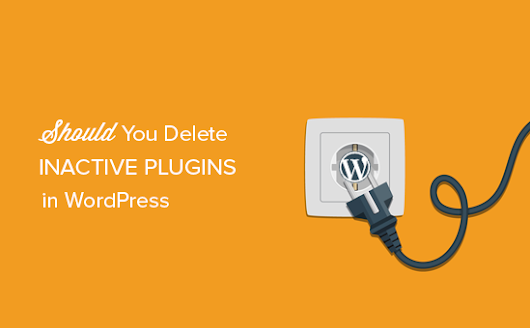 Will Inactive Plugins Slow Down WordPress? Should You Delete Inactive Plugins?