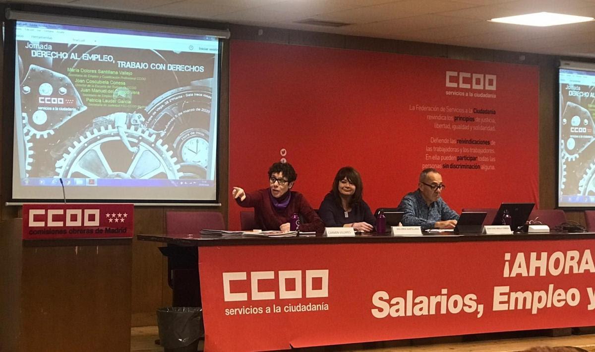 Jornada FSC. Derecho al empleo, trabajo con derechos.