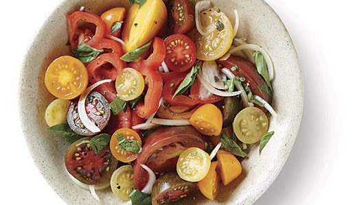 Tomato and Sweet Onion Salad - Recipe - FineCooking