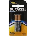 Duracell Batteries, Alkaline, AAAA, 2 Pack - 2 batteries