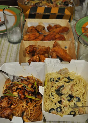 Yellow Cab delivery saved the night!