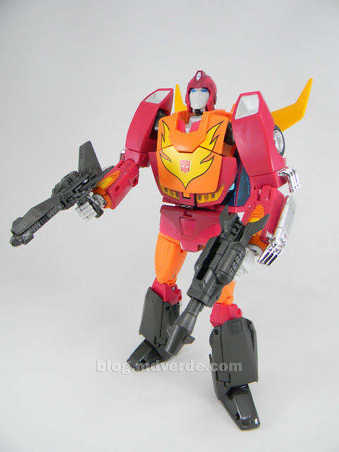 Transformers Hot Rod Masterpiece - modo robot