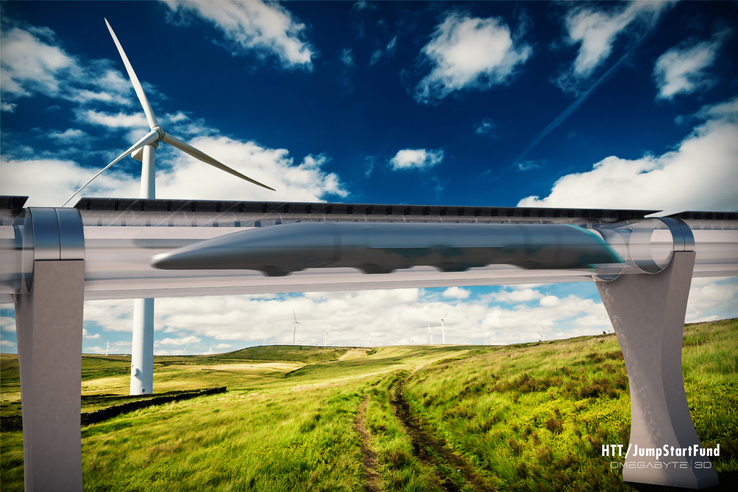 (Courtesy Hyperloop Transportation Technologies)
