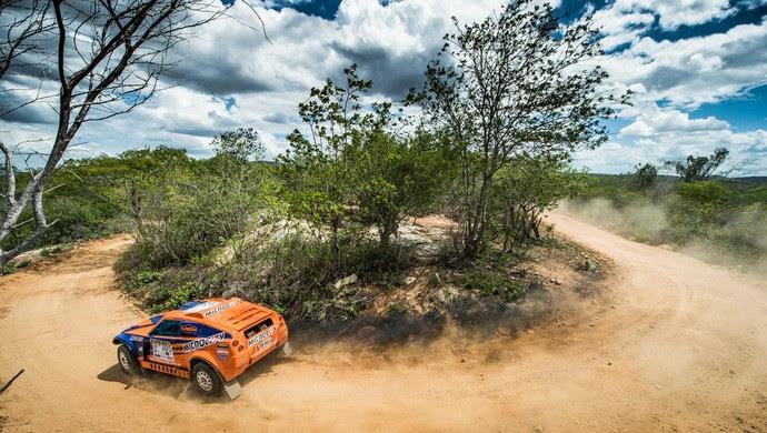Luiz Nacif e Filipe Bianchini (carros) Rally RN 1500 2017 (Foto: Gustavo Epifânio/DFotos)