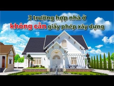 3 loại nhà ở riêng lẻ miễn được cấp Giấy phép xây dựng trong năm 2021