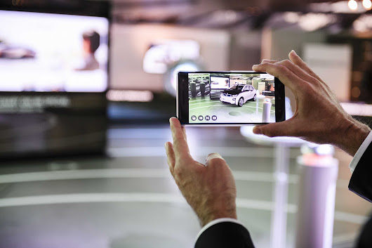 BMW i Augmented Reality Visualiser launches on Google Play