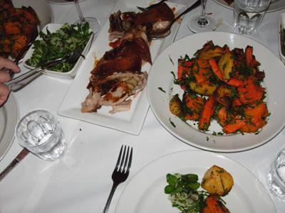 pork and veg