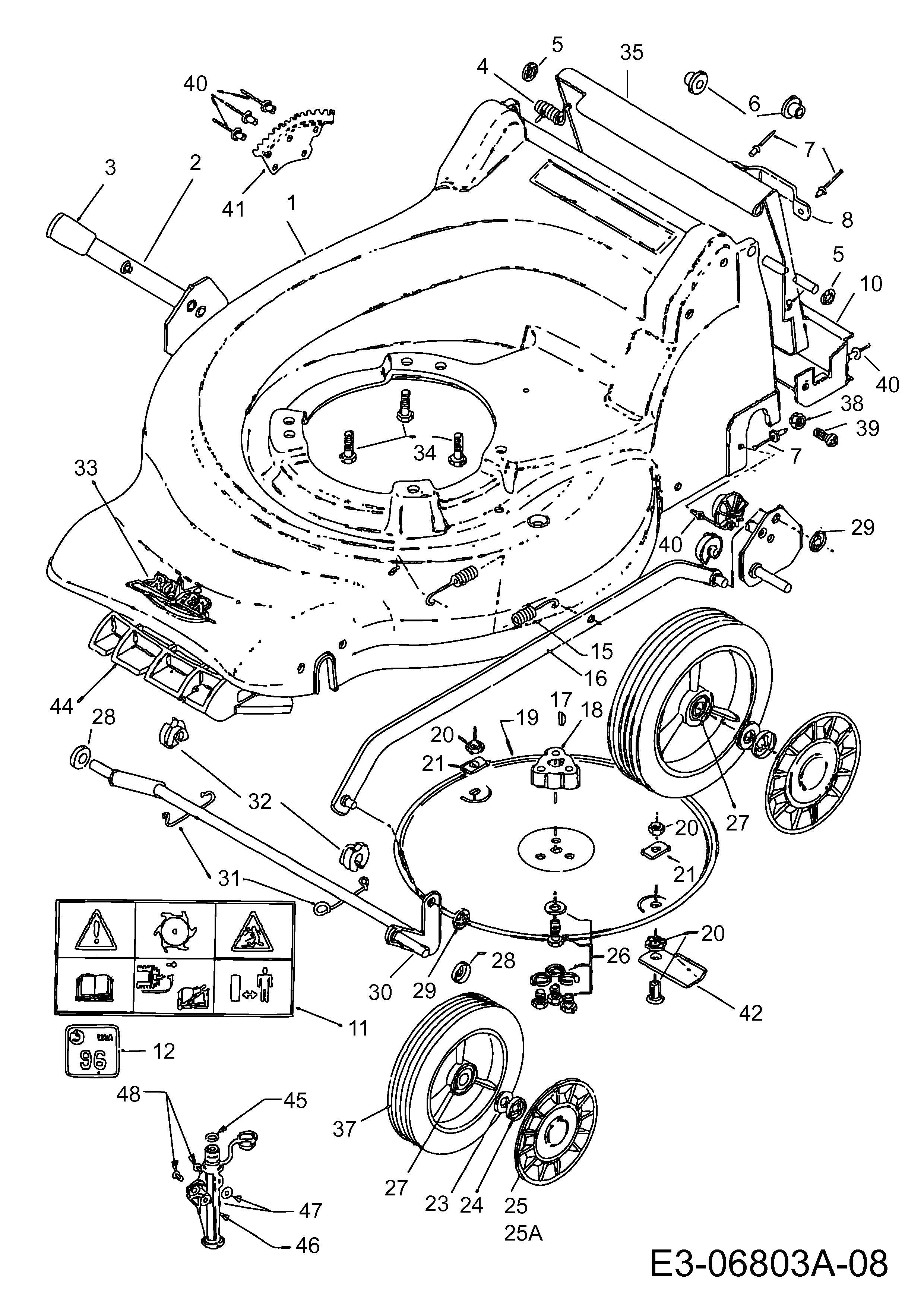 21 Inspirational Craftsman Self Propelled Lawn Mower Belt