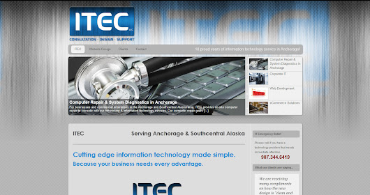 IT services provided by ITEC of Anchorage