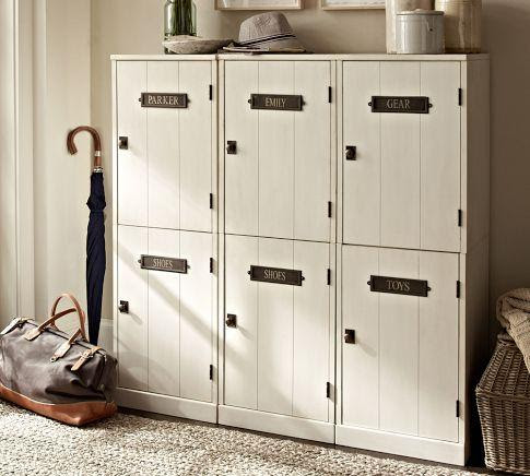 Family Entryway Modular Components | Pottery Barn