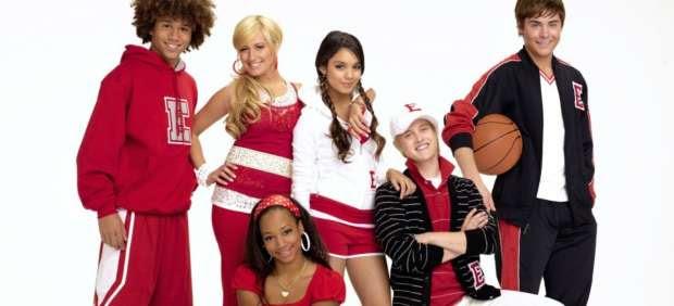 Protagonistas de 'High School Musical'.