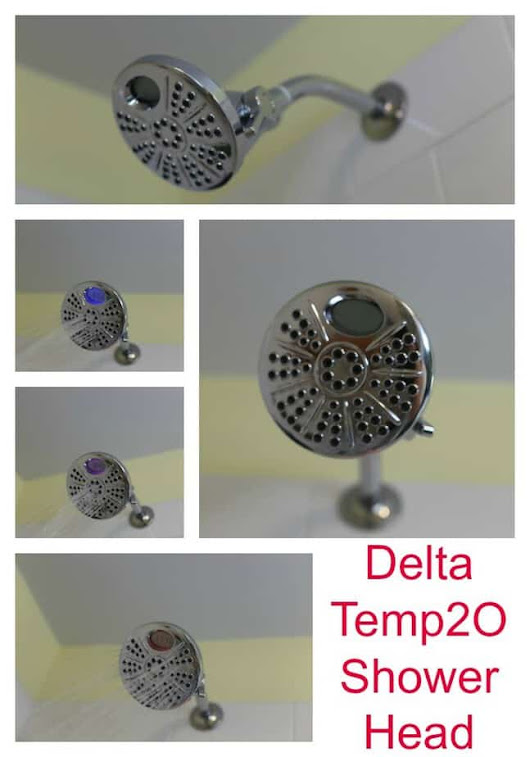 Delta Temp2O Shower Head #DeltaFaucet #HappiMess #giveaway
