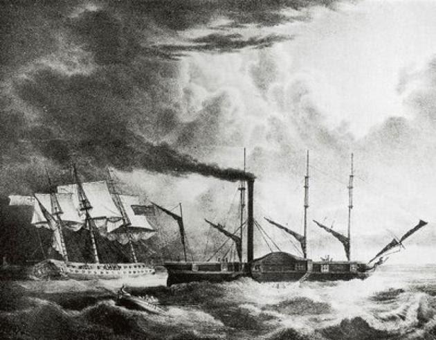Δανεικά, φρεγάτες και πλοία που μπατάρουν! Η ελληνική ιστορία πάντα επαναλαμβάνεται