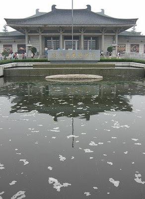 [photo of museum pool]
