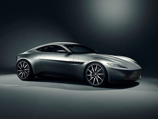 James Bond will drive an Aston Martin DB10 in 'Spectre' movie