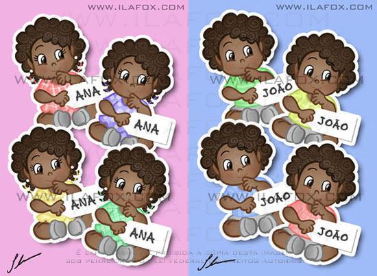 lembrancinha para bebês negros, lembrancinha original imã, nascimento, chá-de-bebê, batizado, festinha de 1 ano by ila fox