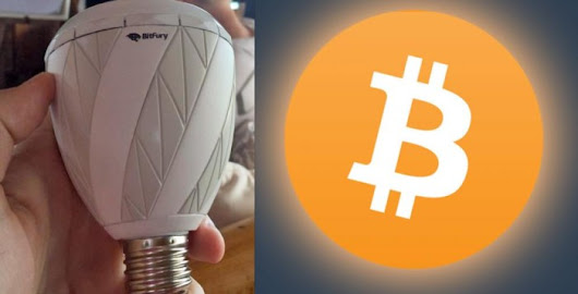 Lights Bulbs that can Mine Bitcoins