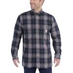 Carhartt Men's Hubbard Sherpa-Lined Shirt Jac - XXL Regular - Twilight