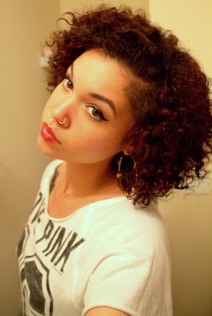 9+ Amazing Style Cute Hairstyles For Curly Mixed Hair
