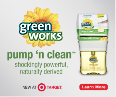 Save 10% on Green Works Products with Target Cartwheel Coupon - Couponing 101