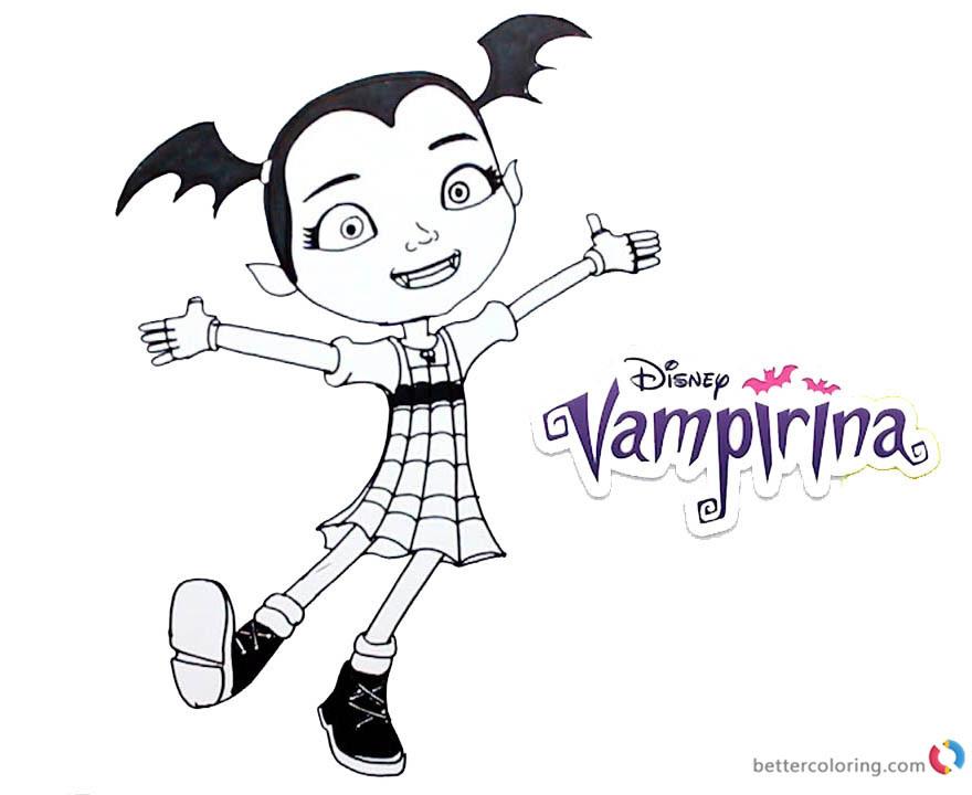 Vampirina Dibujos Para Imprimir Y Colorear Dibujos Para Colorear