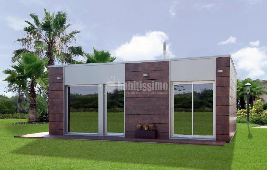Casas de madera prefabricadas casas modulares las palmas - Casas de madera en gran canaria ...