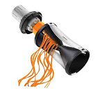 Gefu Spiralizer - Vegetable Spiral Slicer With Attachable Finger Guard - Spirelli 2.0