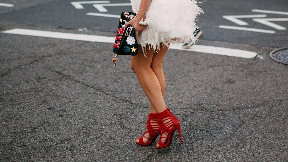 Resultado de imagen de sandalias de tacón street style