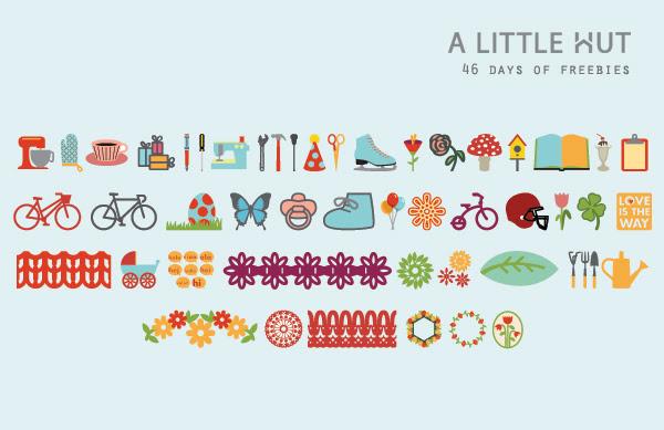 46 days of freebies