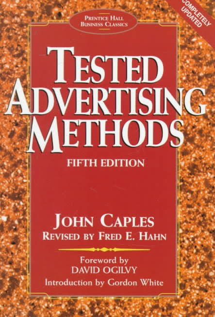 "Book Review: ""Tested Advertising Methods"" - Marketing Resource Blog"