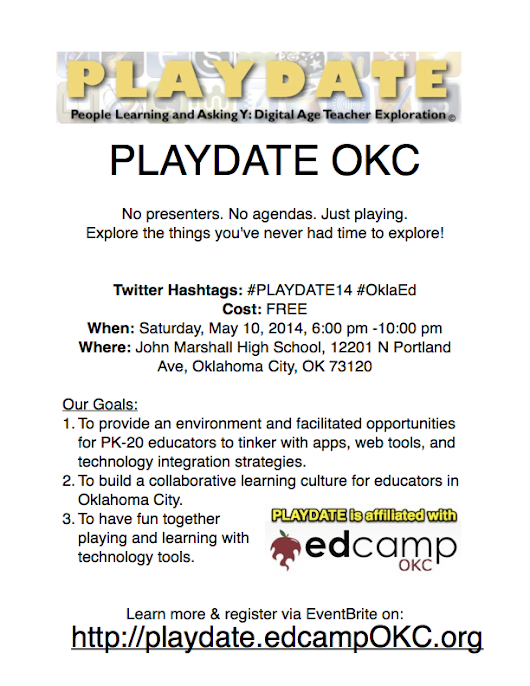 PLAYDATE OKC 2014: Saturday May 10th | EdCampOKC