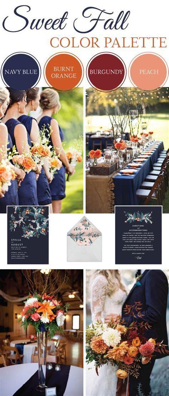 25  best ideas about Navy Wedding Colors on Pinterest