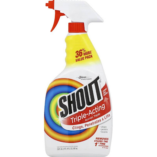 Shout Triple-Acting Laundry Stain Remover - 30 fl oz bottle