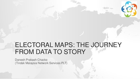 Electoral maps the journey from data to story