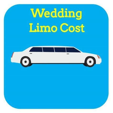 How Much Does Wedding Limo Rental Cost In 2017?   Cost Aide