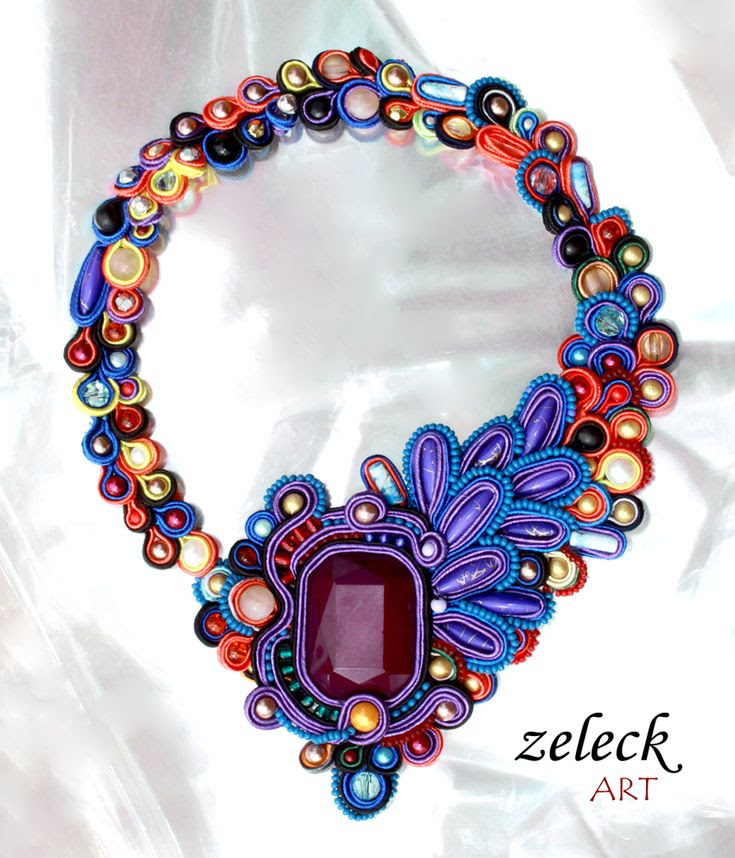 soutache by zeleck.deviantart.com on @deviantART