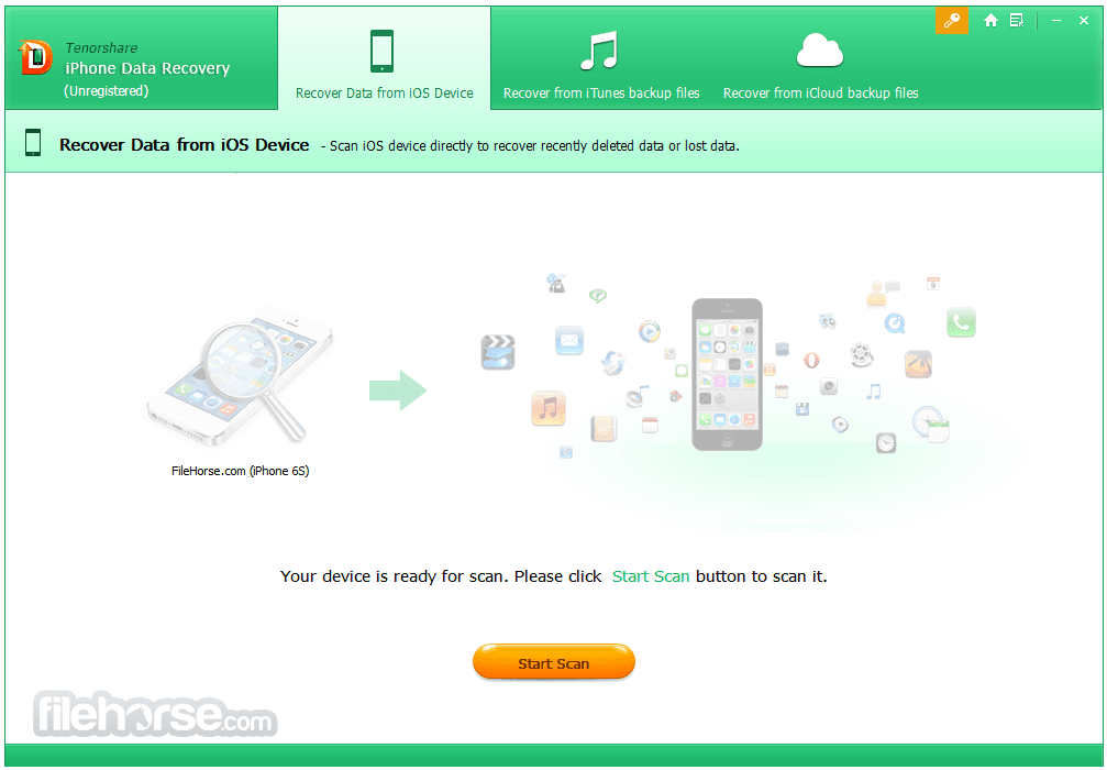 Tenorshare iPhone Data Recovery 7.0.0.2 Download for Windows \/ FileHorse.com