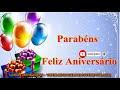Uma Linda Mensagem Falada de Aniversário  Mensagem de Aniversário Vídeo