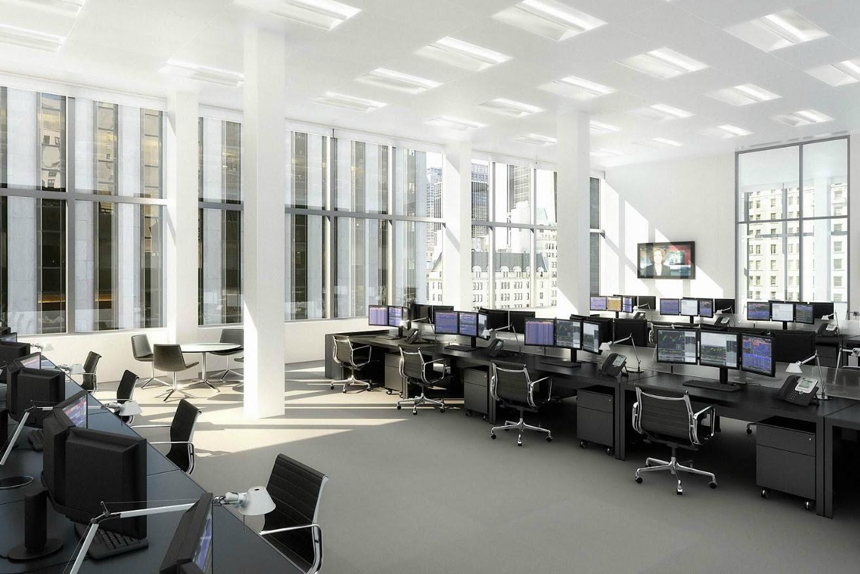 banker office space | Interior Design Ideas.