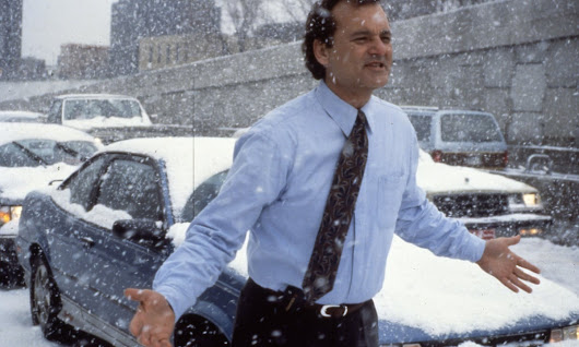 I felt numb, uninspired by my work and stuck in Groundhog Day