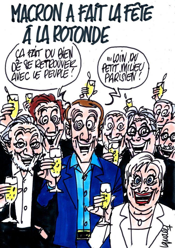 """Résultat de recherche d'images pour """"Macron Roger-Petit La Rotonde"""""""