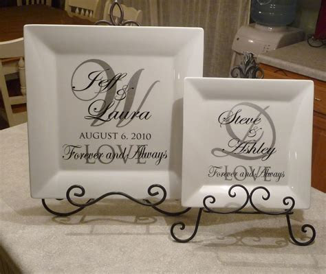 Cher's Signs by Design: Personalized Wedding Plates  14