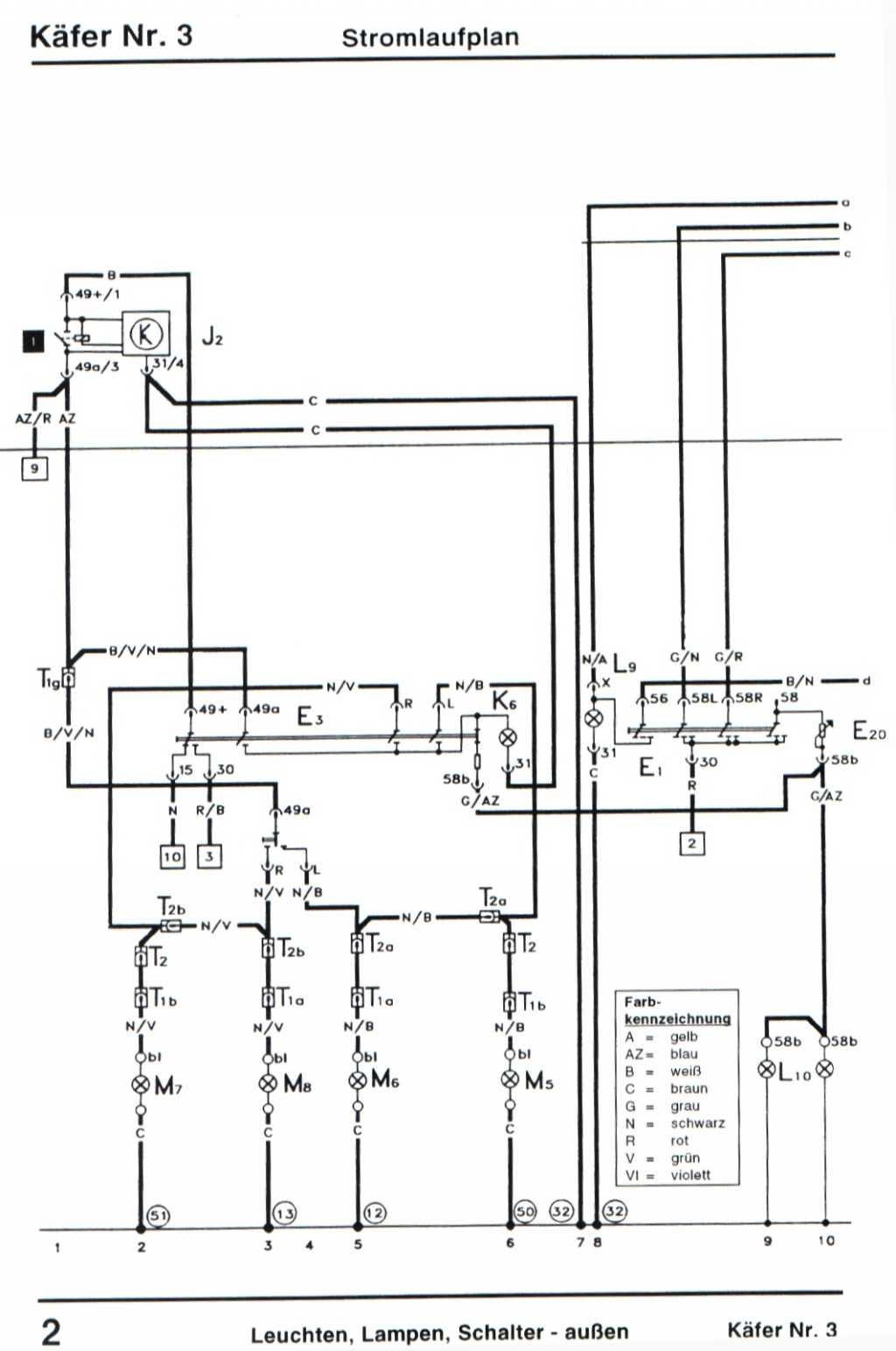 Vw Käfer Motor Schaltplan